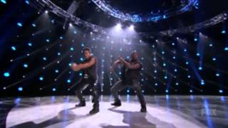 Virgil and all star Joshua   SYTYCD top 4 season 12