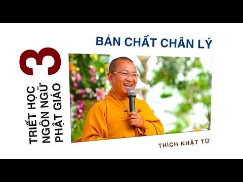 Triết học ngôn ngữ Phật giáo 03: Bản chất chân lý (15/05/2012) Thích Nhật Từ