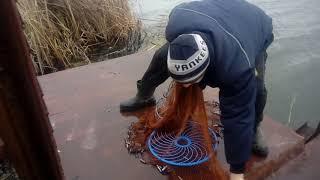 Ловля рыбы на парашют с кольцом
