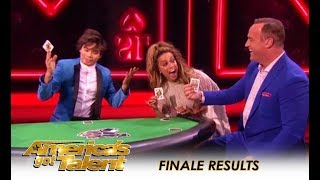 AGT Finale: Shin Lim Playing Poker Magic Will BLOW Your Mind!! | America's Got Talent 2018