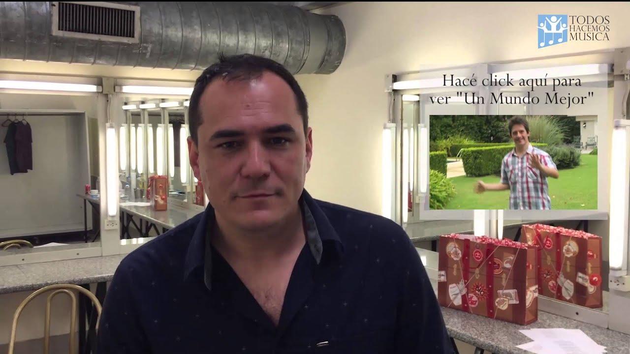 """Ismael Serrano presenta """"Un Mundo Mejor"""" de Todos Hacemos Música"""