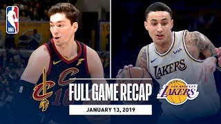 Full Game Recap: Cavaliers vs Lakers | Kuzma Scores 29 Points