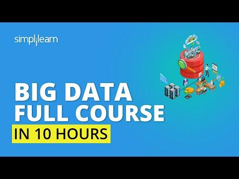 Big Data Tutorial For Beginners | Big Data Full Course | Learn Big Data Step By Step | Simplilearn
