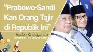 Prabowo Minta Sumbangan Kampanye, Hasto Kristiyanto: Mereka kan Tercatat Orang Tajir di Indonesia