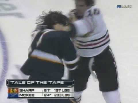 Patrick Sharp vs Jay McKee