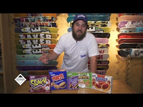 The Marinela Snack Tent at The Boardr Skateboarding Shindigs