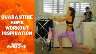 videos de risa entrenamiento en casa