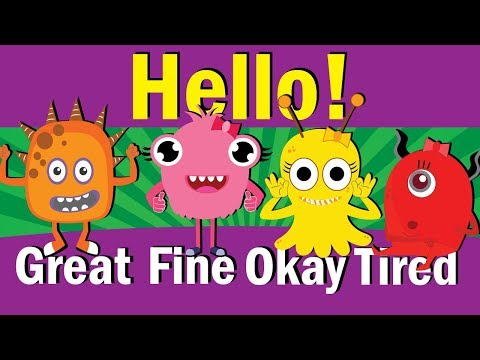 Hello Song | Hello How Are You | Hello Song for Kids