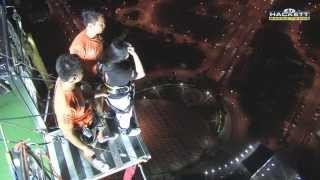 preview picture of video 'KEZIA ILAT jump from the Macao Tower height of 233 meters'