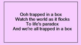 No Doubt - Trapped In A Box Lyrics