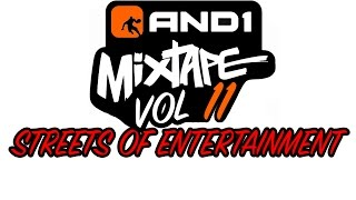"""AND1 Mixtape Volume 11 DVD   """"Streets Of Entertainment"""""""