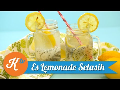 Video Resep Es Lemonade Selasih | GIOVANI ASYERA