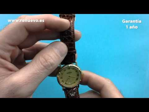 Reloj DUWARD de oro de 18 kilates de segunda mano E238053