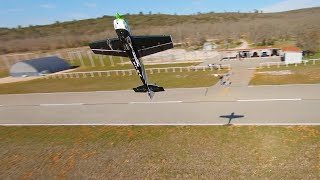 Chasing acrobatic plane with FPV drone - Pourrieres - CEEMA