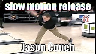 Jason Couch slow motion release - PBA Bowling