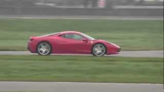 preview picture of video 'Ferrari 458 Italia sul circuito di Vairano (PV)'