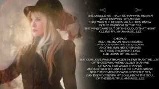 Annabel Lee - w/ lyrics ~ STEVIE NICKS