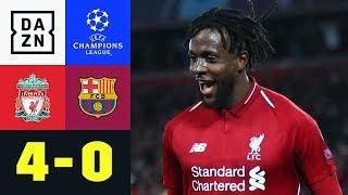 Divock Origi Macht Wunder Von Anfield Perfekt: Liverpool - Barcelona 4:0 | Champions League | DAZN