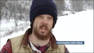 Американский фермер Джастас Уолкер строит ферму в Солонешенском районе