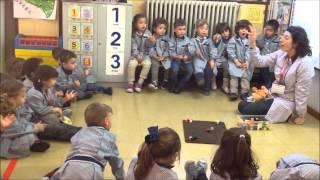 La clase de inglés AMCO en 1º de Infantil