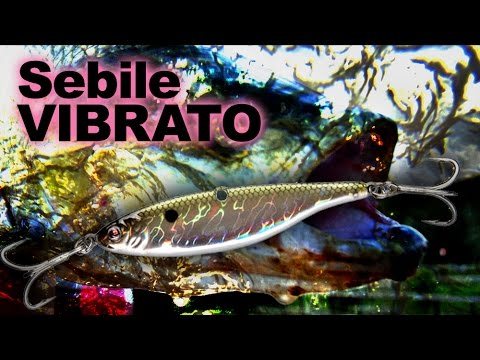 Sebile Vibrato 66mm, S (21g) videó