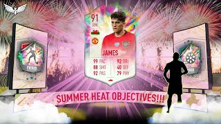 *LIVE* DAN JAMES SUMMER HEAT OBJECTIVES GRINDING!!! - FIFA 20 Ultimate Team