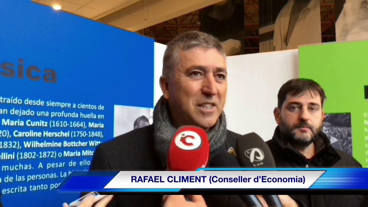 El conseller Climent visita les obres de modernització i millora dels polígons d'Ibi