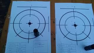 Tests de tir avec choke Kiks X Full Gobblin sur Baikal MP155