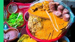 UNDISCOVERED Street Food of Hue, Vietnam - MEAT SHRINE and Bun Bo Hue in Đông Ba Market!