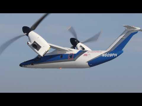 Leonardo prepara la certificación civil de su convertiplano AW609