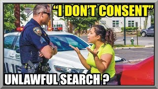 """ I Do Not Consent "" - UNLAWFUL SEARCH ? - First Amendment Audit 52 - East Hampton, NY Police"