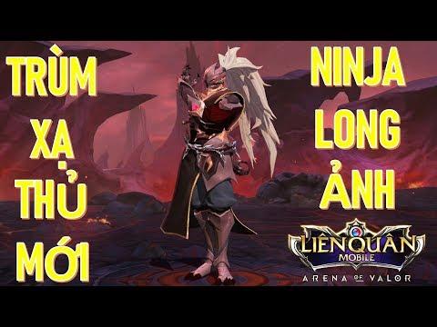 Ninja Long Ảnh HAYATE xạ thủ mới cực bá cho cao thủ Liên quân mobile