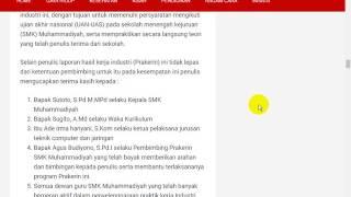 Contoh Kesimpulan Laporan Prakerin Multimedia видео видео