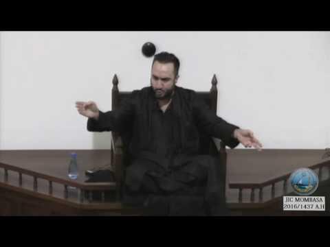 Prophet Mohammad : Raising Imam Ali (a.s) by Dr. Sayed Ammar Nakshawani 19th Night 1437 A.H
