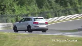 200.000$ Audi SQ7 extreme Crash in a Race!