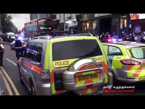 Londres : combats de rue dans le quartier de Walthamstow