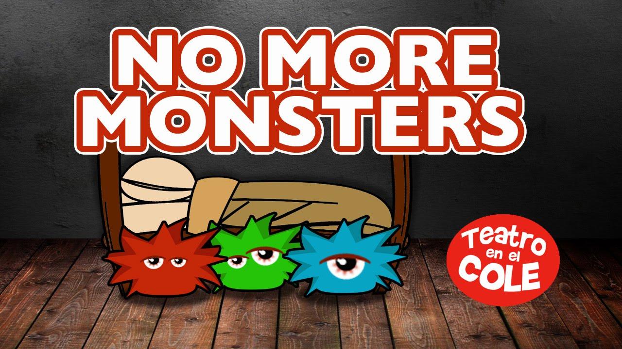 NO MORE MONSTERS (Next Please) Teatro en el Cole. Dubbi Kids.