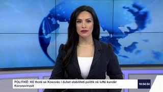 RTK3 Lajmet e orës 10:00 27.03.2020