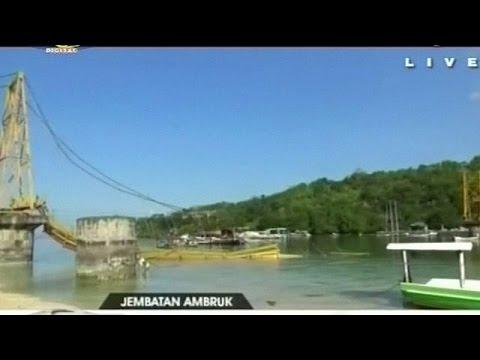 Ινδονησία: Εννέα νεκροί από κατάρρευση γέφυρας κοντά στο Μπαλί