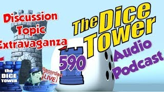 Dice Tower 590   Discussion Topic Extravaganza recorded live on Dice Tower Cruise 2019