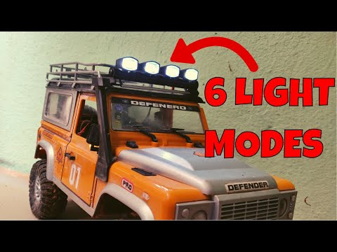 6 MODE SPOTLIGHTS for 1/12 scale RC and MN 90