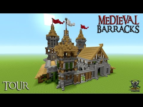 minecraft medieval castle world download