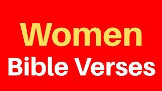 10 Bible Verses On Women | Get Encouraged