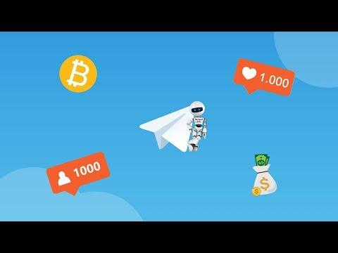 Полезные телеграмм боты: накрутить подписчиков, лайки и заработать деньги и биткоин
