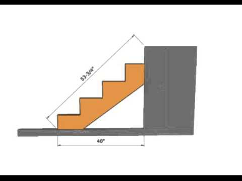 How To Figure Length of Stair Stringer – Construction Math
