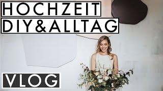 Wir als BRAUTPAAR! | Hochzeitsshooting, DIY Namensschild, Schmetterlinge falten | JELENA