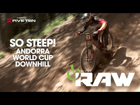 SO STEEP!!! Vital RAW Andorra World Cup Downhill Day 2