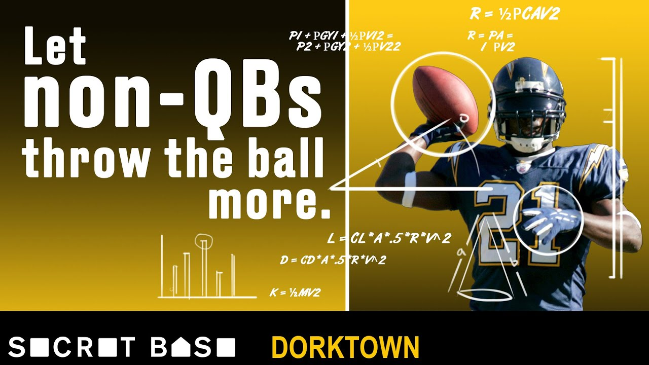 The NFL's most efficient passers aren't quarterbacks | Dorktown thumbnail