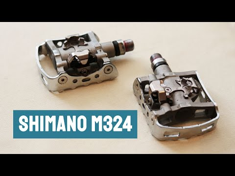 Shimano M324 combination pedals review