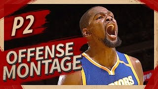 Kevin Durant Offense Highlights Montage 2016/2017 (Part 2) - MVP MODE!